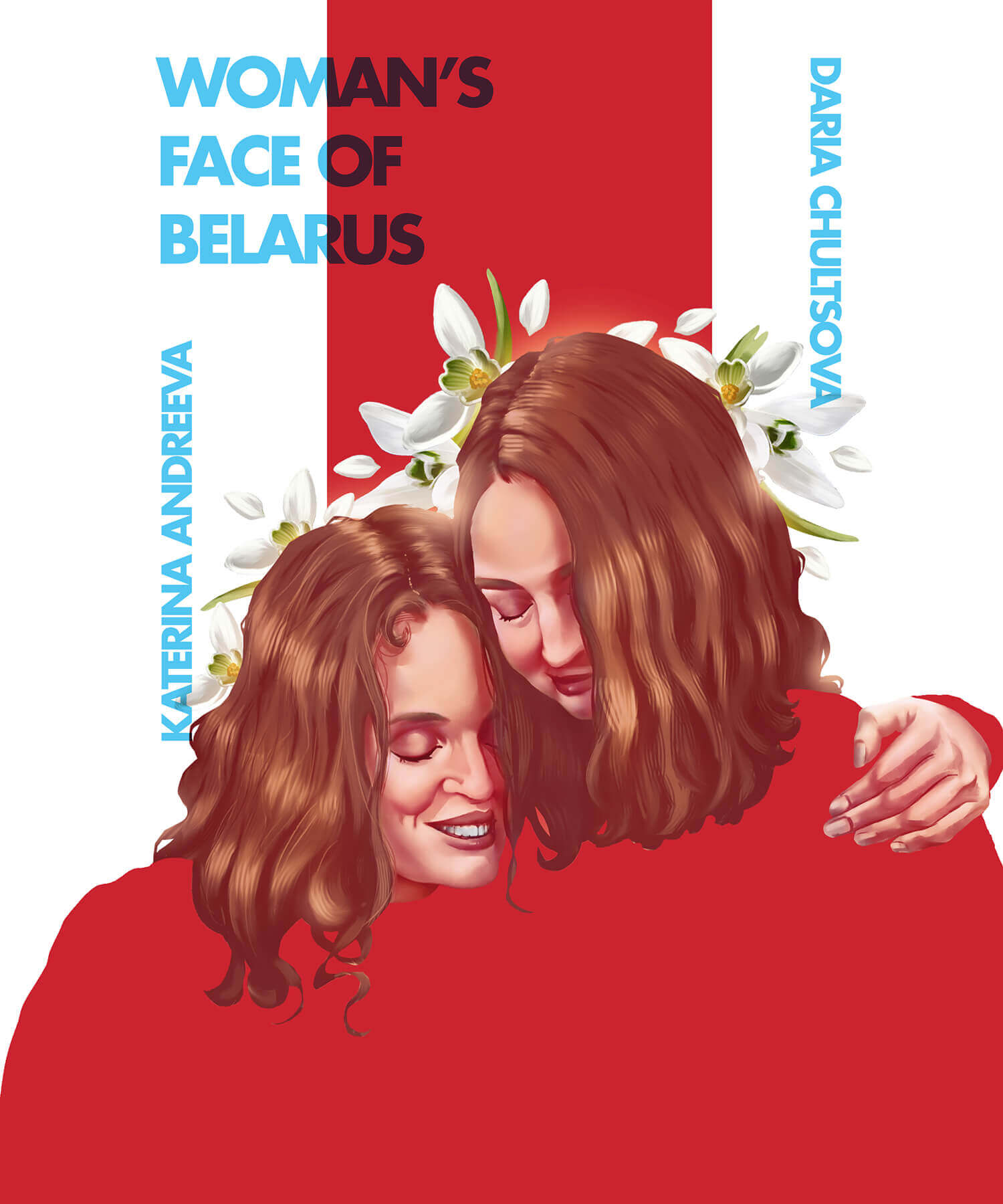 Woman's face of Belarus